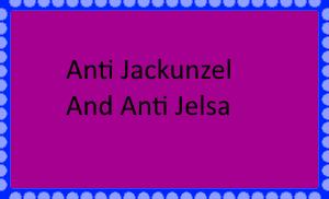 Anti Jackunzel and Anti Jelsa Stamp by SmoothCriminalGirl16