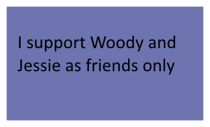 Woody and Jessie As Friends Stamp by SonicX16