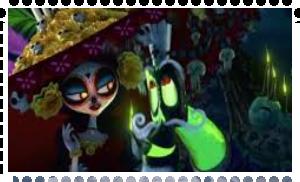 Xibalba x La Muerte Stamp by SonicX16