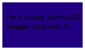 Pro Sasuke Uchiha/OC stamp