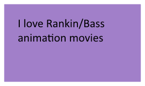 I Love Rankin Animation Movies Stamp by L-fangirl-101