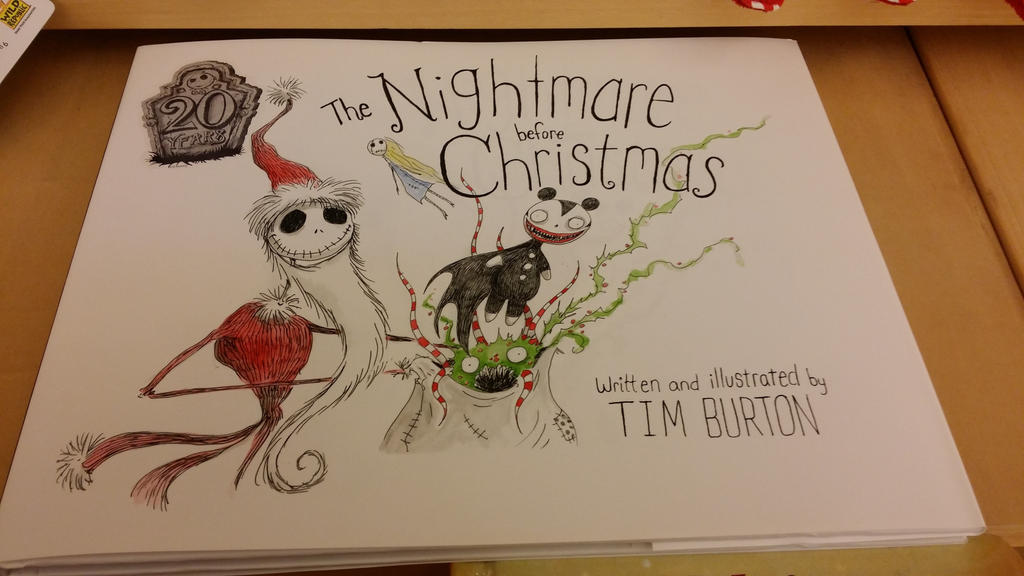 The Nightmare Before Christmas Book by SmoothCriminalGirl16 on ...