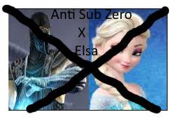 Anti Sub Zero x Elsa