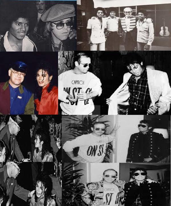 MJ and Elton John by SmoothCriminalGirl16
