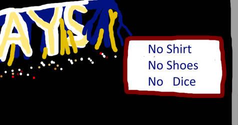 No Shirt, No Shoes, No Dice by SmoothCriminalGirl16