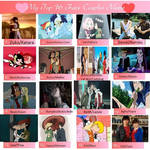 My Top 16 Favorite Couples