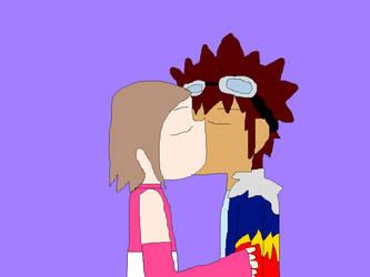 DaiKari Kissing by SmoothCriminalGirl16