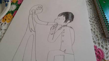 JapViet Hand Kiss by SmoothCriminalGirl16