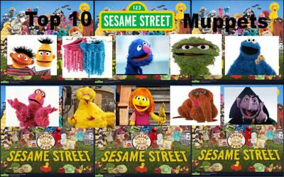 My Top 10 Favorite Sesame Street Characters
