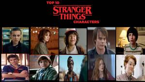 My Top 10 Favorite Stranger Things Characters
