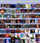 My Favorite Characters by Disney Movie