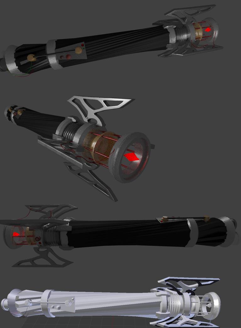 Sith Lightsaber by Ten-Tsuki