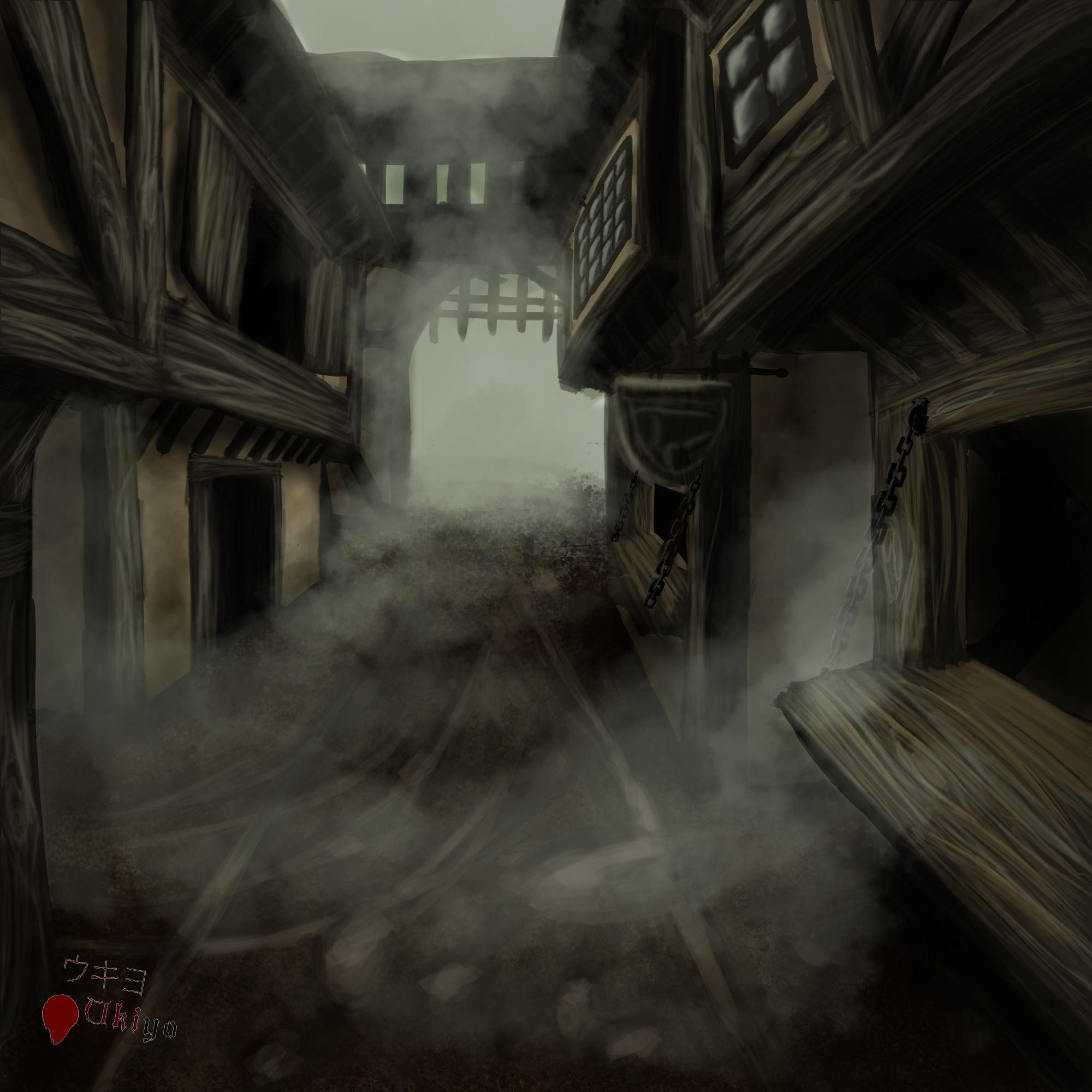 Scenarium - Abandoned city by Ten-Tsuki