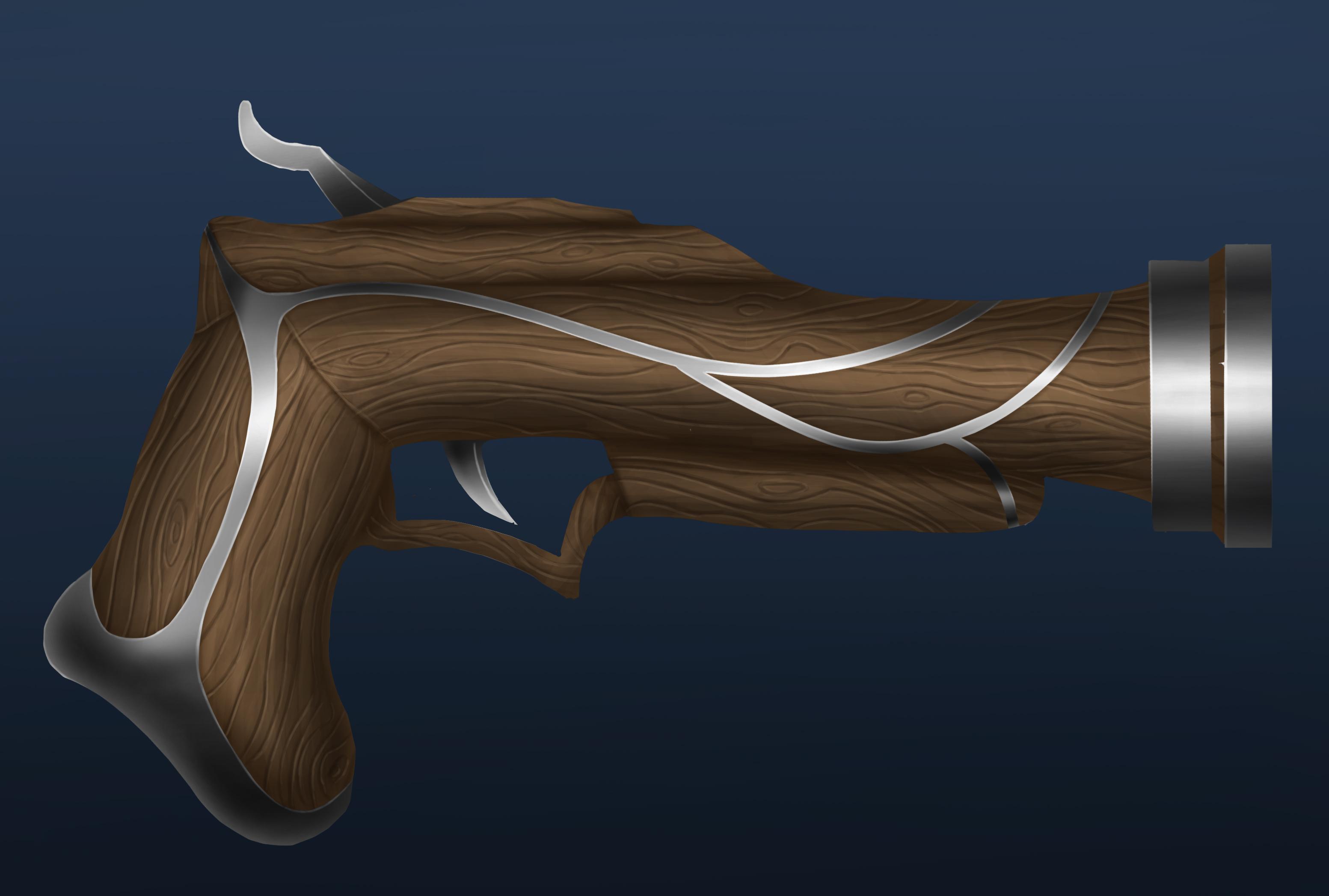 Weapon design - elven gun ? by Ten-Tsuki