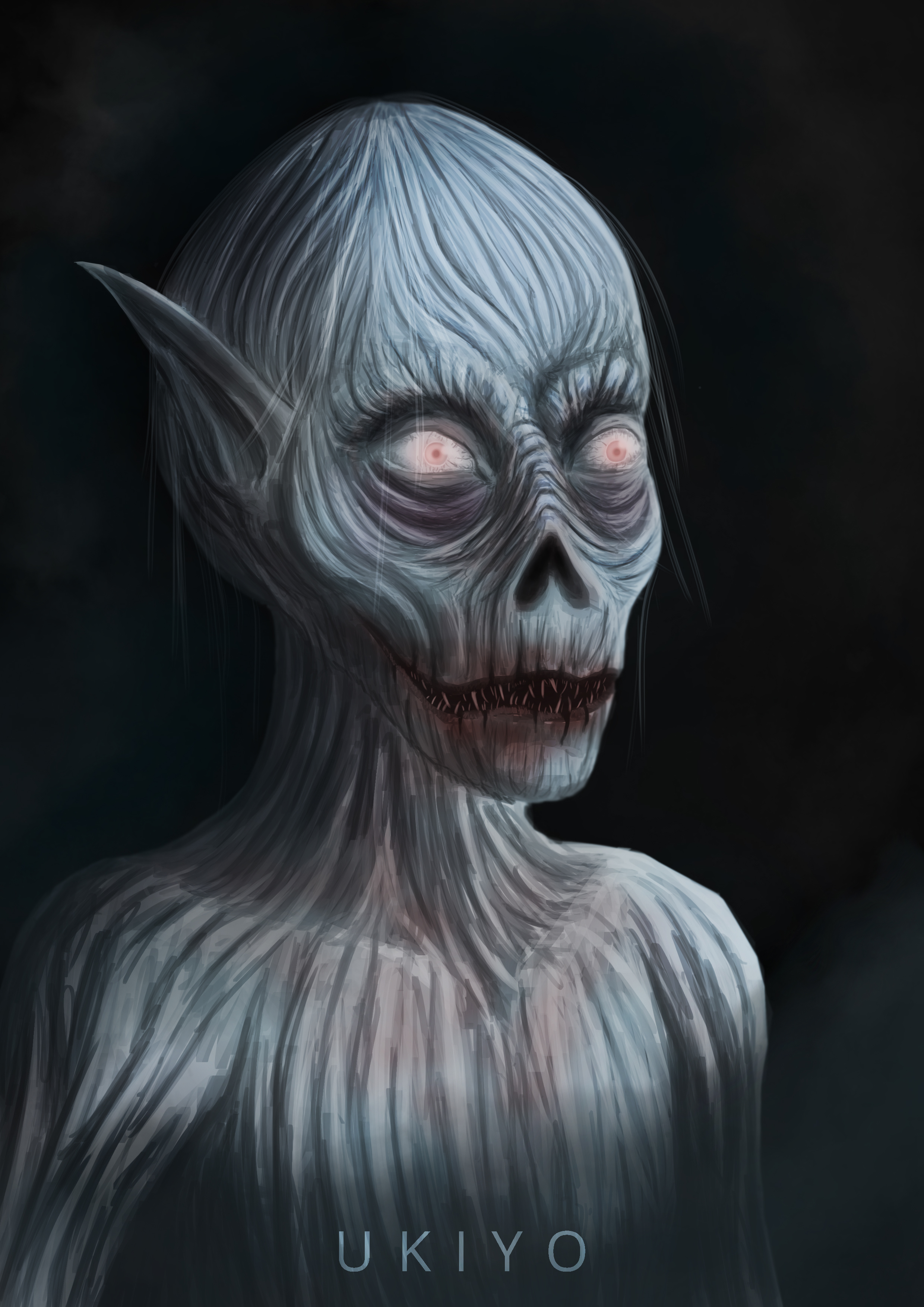 Dessicated vampire by Ten-Tsuki