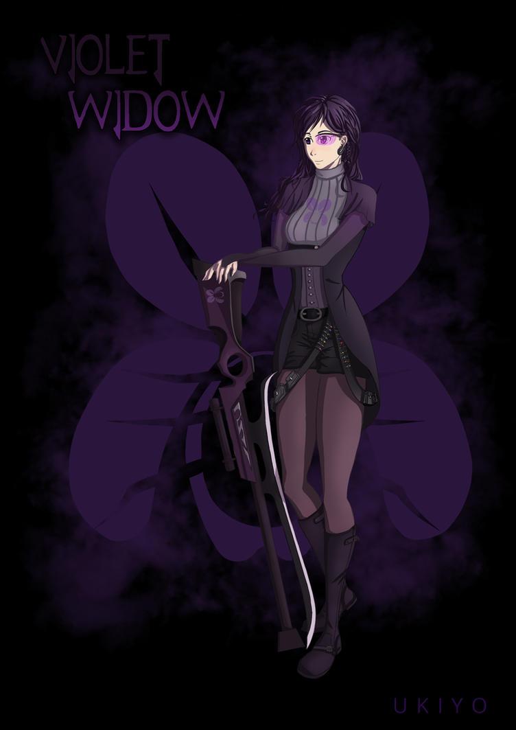 SLVR - Caradesign - Violet Widow by Ten-Tsuki