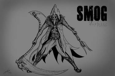 Smog - Plaag ink version