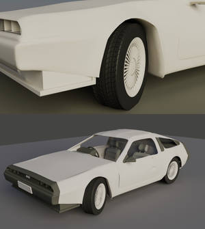 Delorean WIP