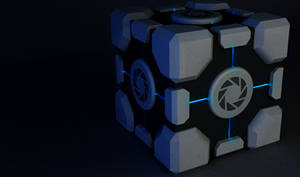 Aperture Science Weighted Storage Cube