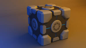 Aperture Science Weighted Storage Cube V2