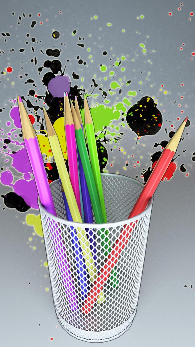 Pencils by alexdarkred