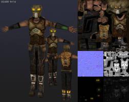 Future Survivor - Texture maps