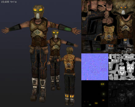 Future Survivor - Texture maps