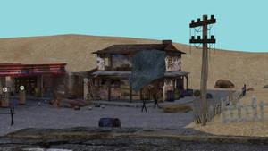 Deserted Gas Station 2