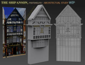 The Ship Anson - Building Model (WIP)