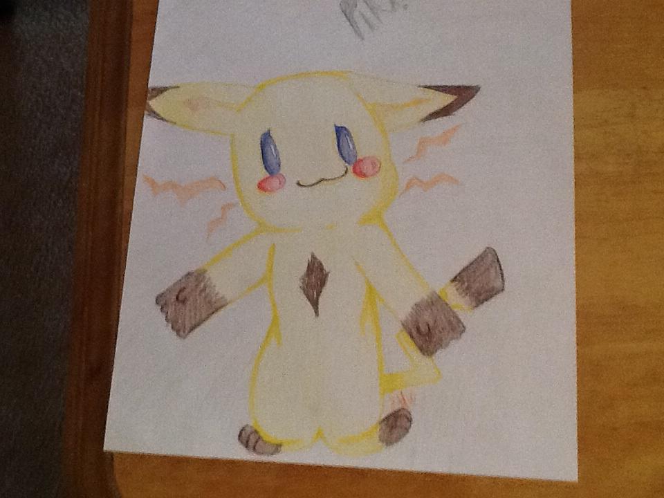 Custom pikachu for MotherWolfsDawn by NeonCandyLights