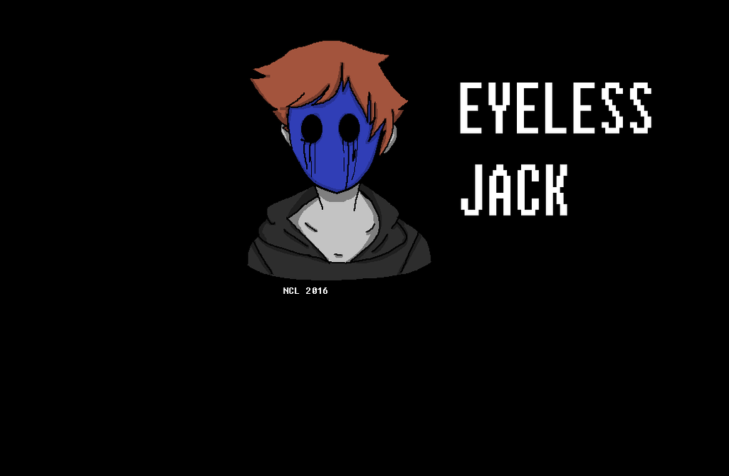Eyeless Jack by NeonCandyLights