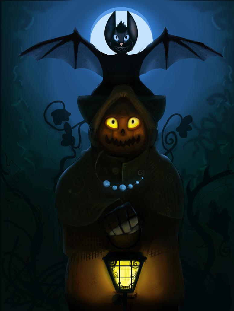 Pumpkin Lantern by Snowman999