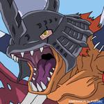 Kimeramon - Synthetic Evil Beast by xyz-dbz