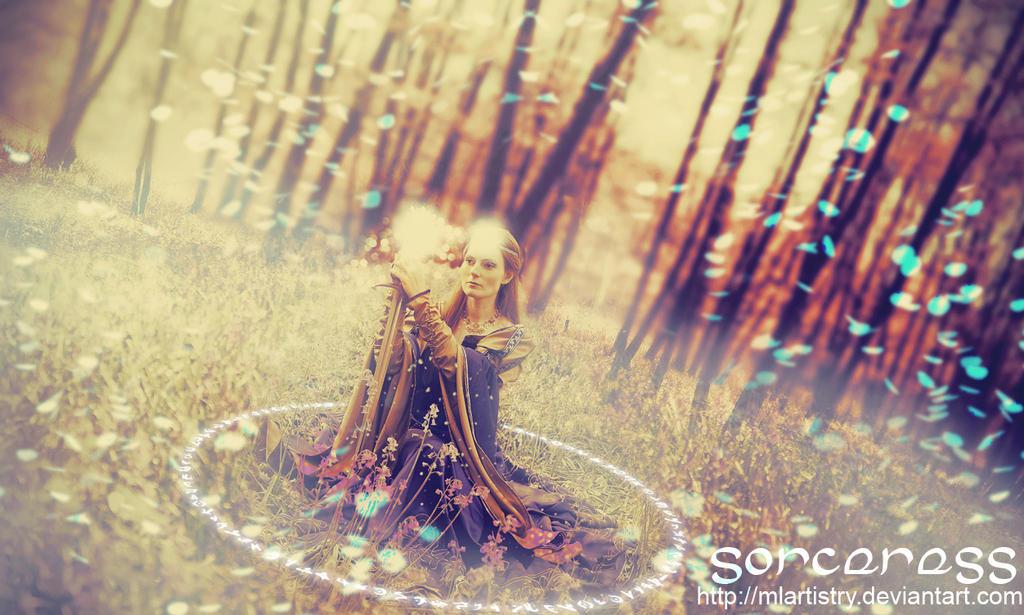 Sorceress by MLArtistry
