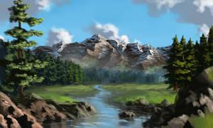 Landscape1 by Colorstormu