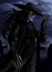 Western vampire by Colorstormu