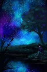 Night Sky by Colorstormu