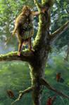 Wooden Elf Prince by Colorstormu