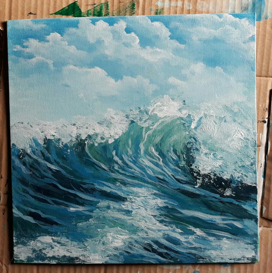 Wave by Colorstormu