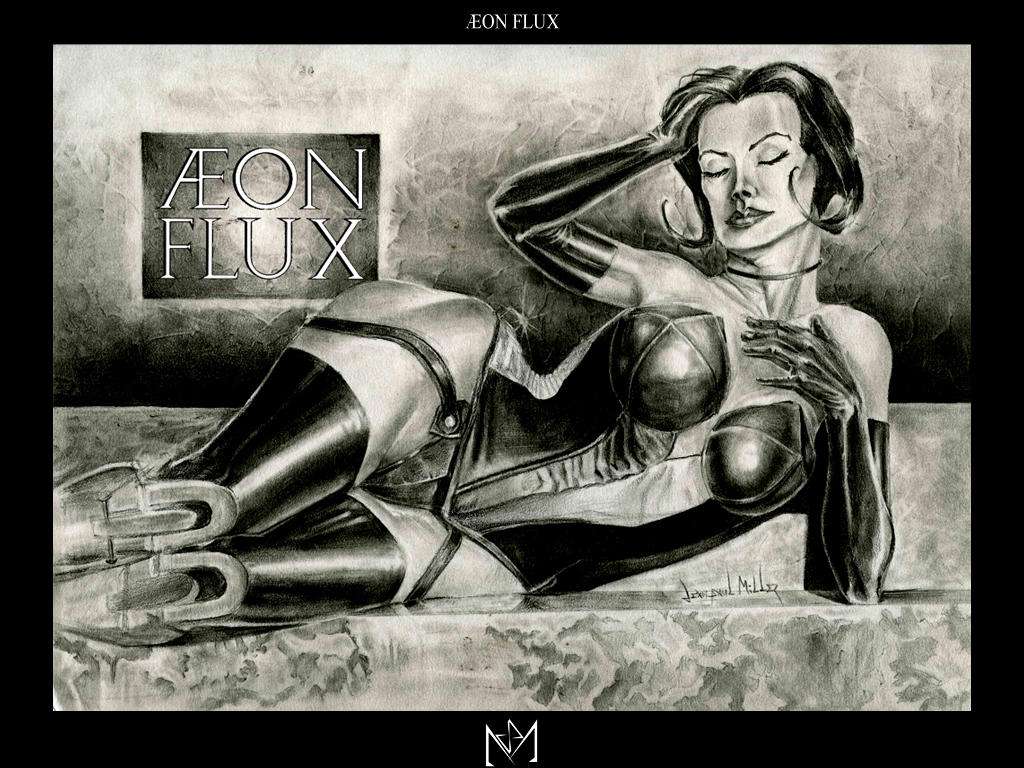AEON FLUX by Metahedron on DeviantArt