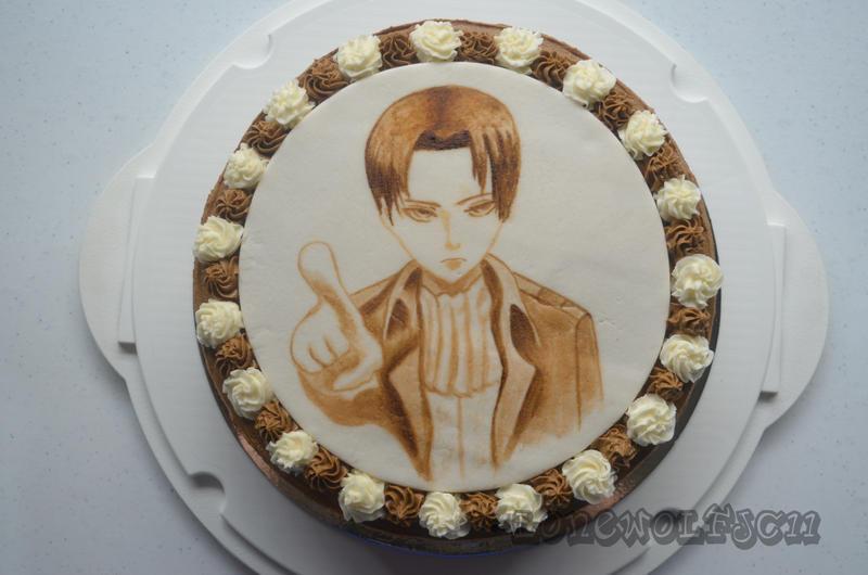Art Attack Theme Cake : SnK: Levi Cake by lonewolfjc11 on DeviantArt