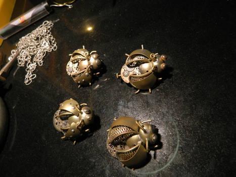 Steampunk beetles