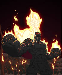 Fire on Hot Coals