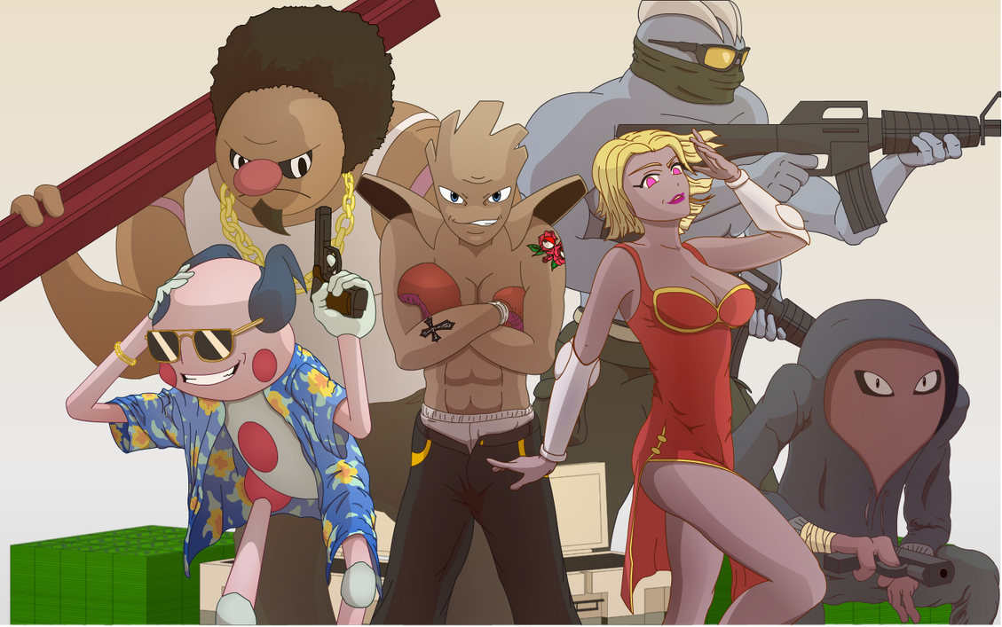 Gangsta Pokemon