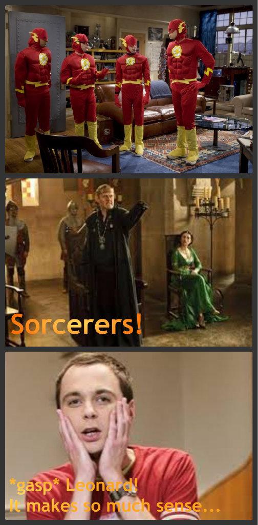 Sheldon's views on Sorcery... by Shadow-StrikeRaven