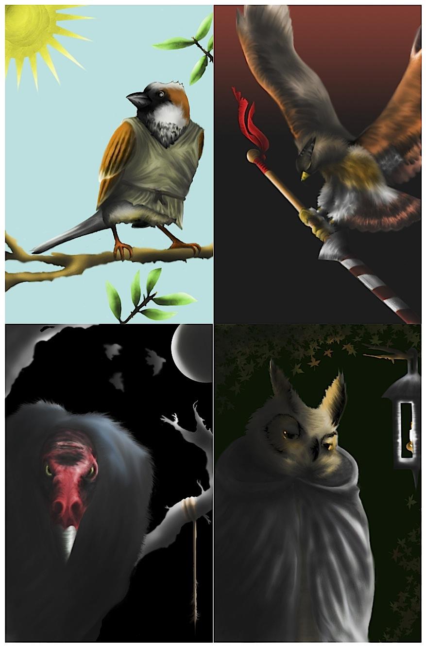 The Tarot Birds By JonnyPenn On DeviantArt