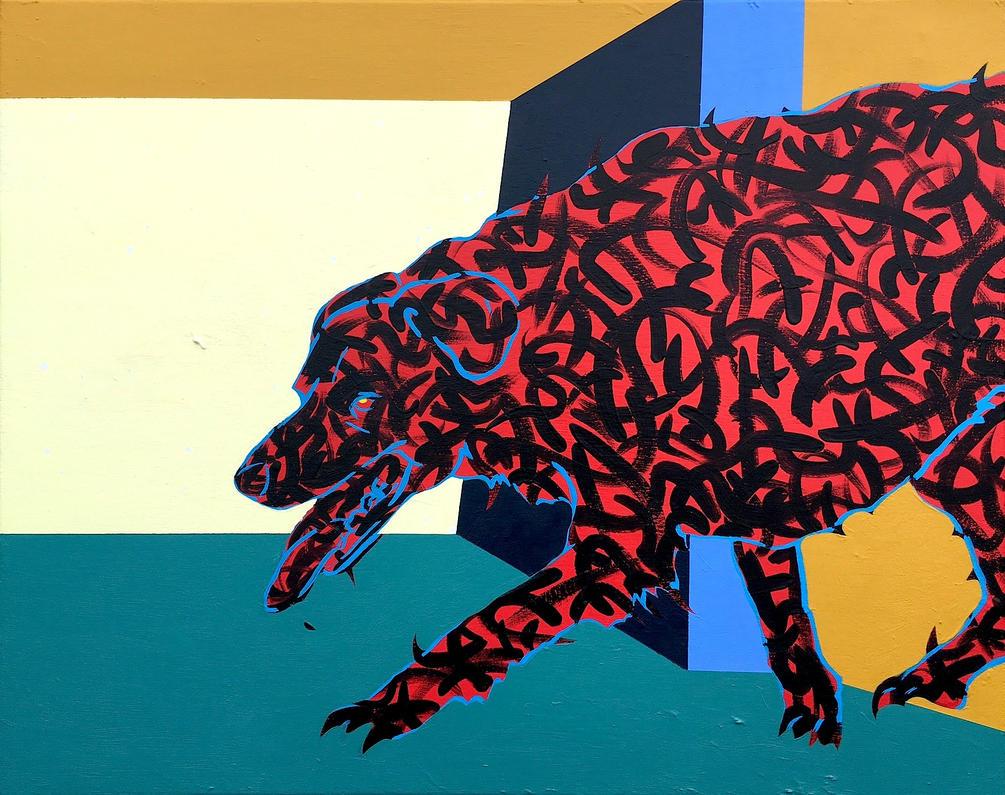 Black Dog by JonnyPenn