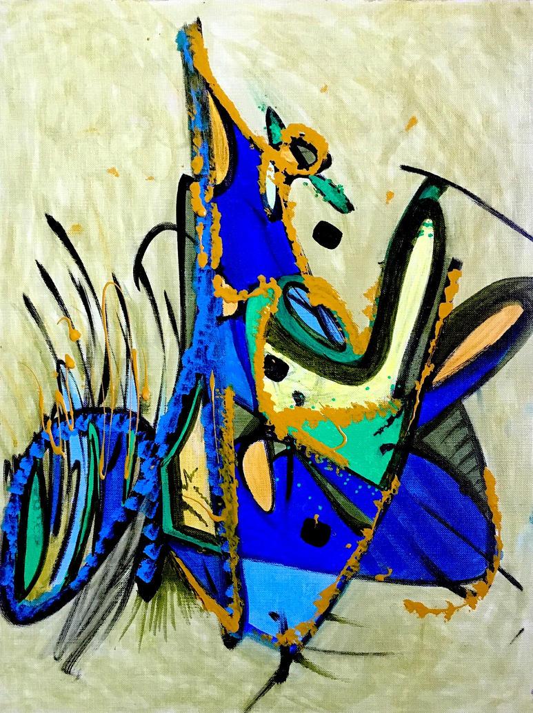 Daily Abstract #6 by JonnyPenn