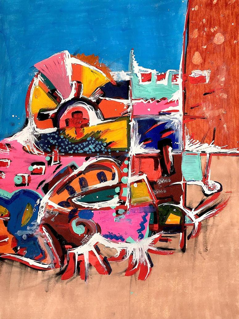 Daily Abstract #7 by JonnyPenn