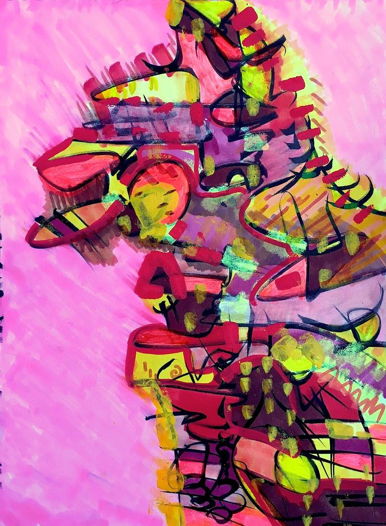 Daily Abstract #8 by JonnyPenn
